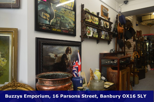 Antique's and collectable's shop in the heart of Banburys Old Town.