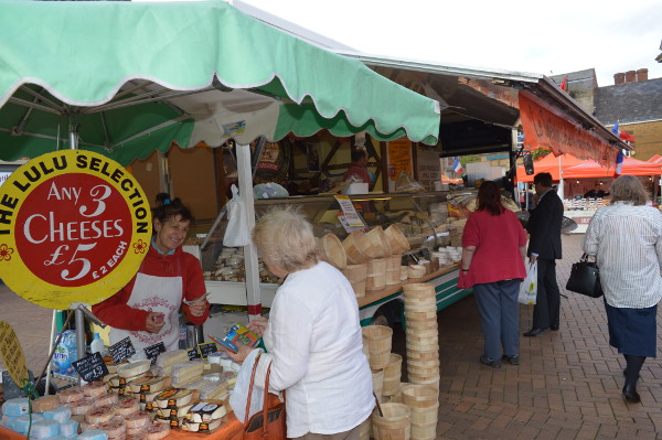 international market 'Flavours of the World' is visiting Banbury