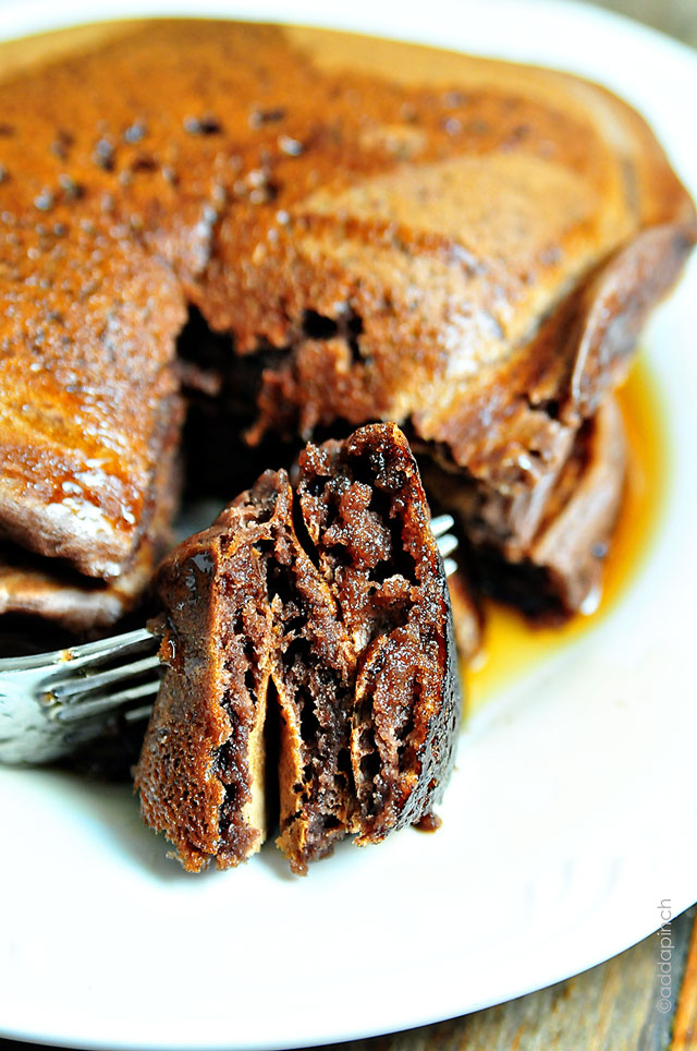 Chocolate Pancakes by Robyn Stone from Add a Pinch