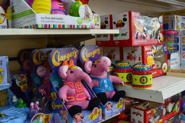 The Clangers. In store NOW. at 56-59 Broad Street Banbury OX16 5BL — at Trinders Banbury.
