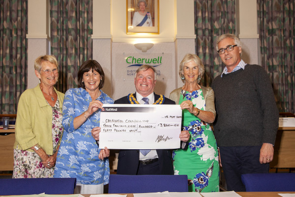 Hard work pays off for charitable chairman