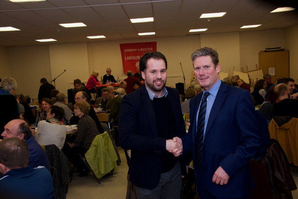 Cllr Sean Woodcock, Keir Starmer MP