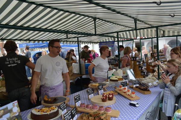 Cotswold Baking at Banbury Food Fair.