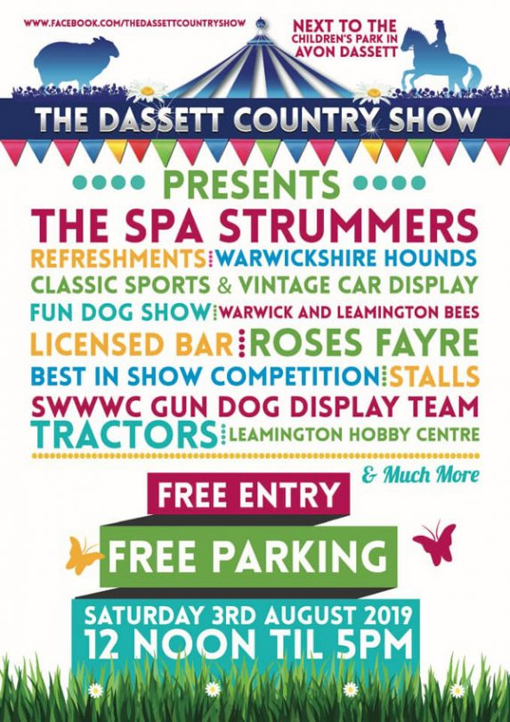 The Dassett Country Show will take place in the beautiful village of Avon Dassett