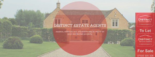 Distinct Estate Agents - a modern, affordable and efficient way to sell or let your property