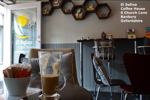 El Safina Coffee House. 6 Church Lane Banbury Oxfordshire