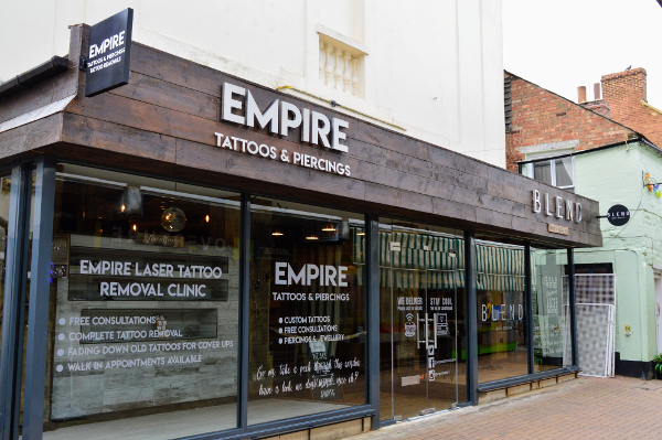 Empire Tattoo Studio open their new headquarters in Church Lane Banbury on Saturday, April 13