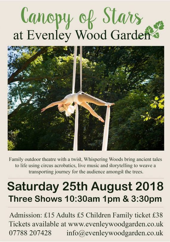 Canopy of Stars by Whispering Wood Folk - Hosted by Evenley Wood Garden