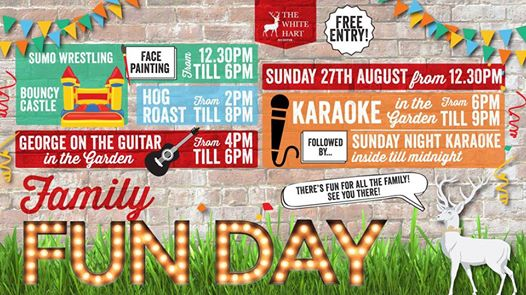 Family Fun Day! Hosted by The White Hart Bicester