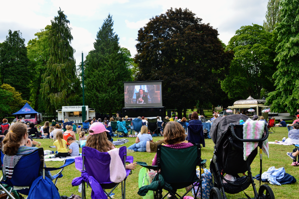 Film Friday was the first of a series of events that will celebrate the 100th anniversary of People's Park which opened in 1919.
