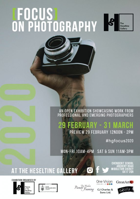 First ever open photography competition – [Focus] on Photography – promises a celebration of creativity at The Heseltine gallery.