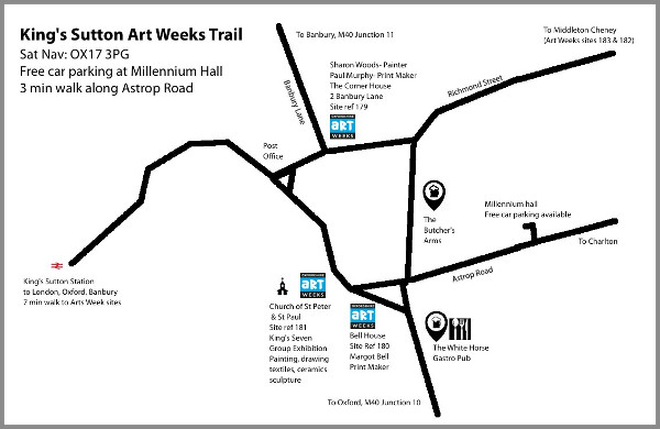 3 Great exhibition venues all within a 5 minute walk.