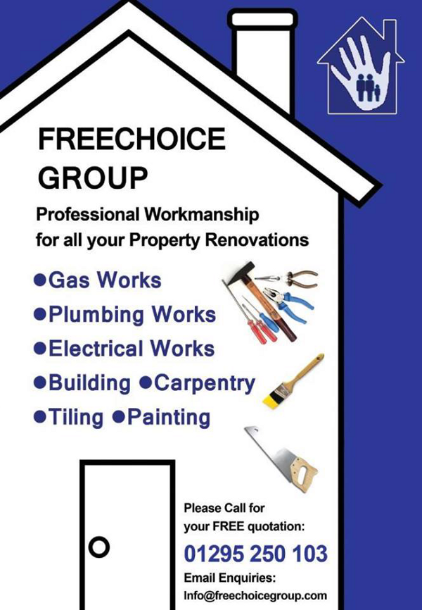 The Freechoice Group is a family-run company where quality of work, customer satisfaction and fair pricing are the cornerstone principles.