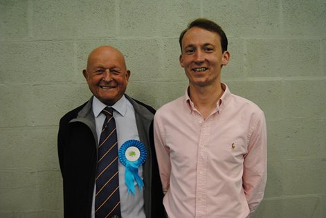 GAUL Sean Robert Martin (pictured right) is thereby elected to serve a four year term MOULD Richard Laurence (pictured left) is thereby elected to serve a three-year