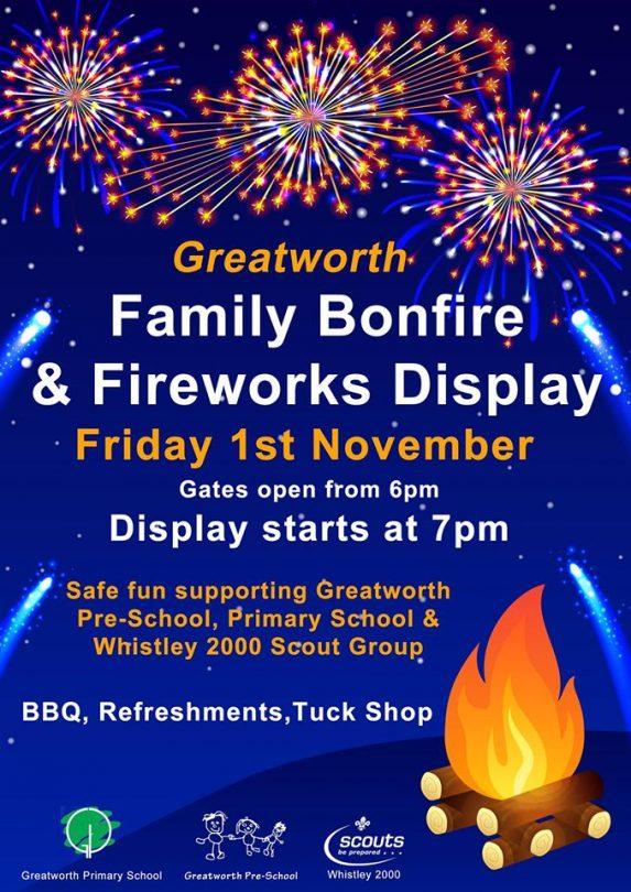 Greatworth Family Bonfire & Fireworks.