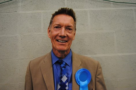 HUGHES David Leonard (pictured) is thereby elected to serve a two-year term