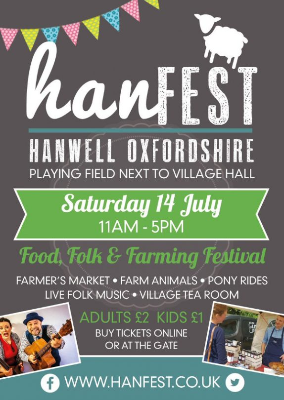 North Oxfordshire's Food, Folk & Farming Festival, HanFEST set to welcome record numbers this weekend.