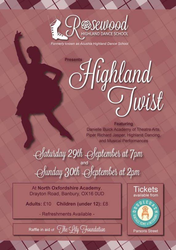 Rosewood Highland Dance School Presents Highland Twist!