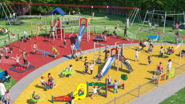 More than £110,000 is to be spent on improvements to Howard Road play area.