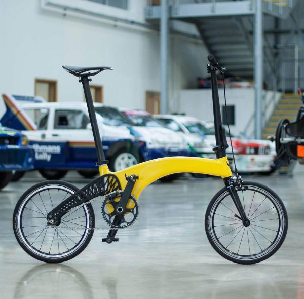 Hummingbird. the lightest folding bike in the world!