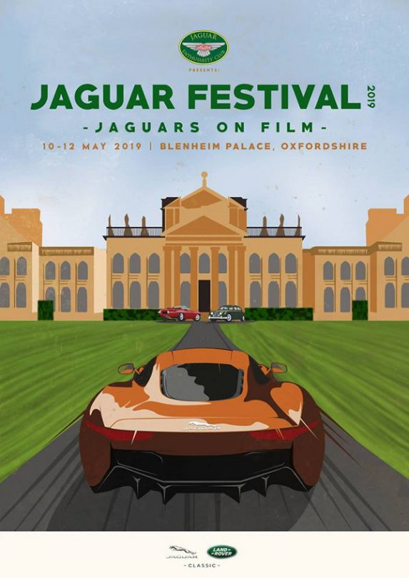 """The largest festival celebrating the car marque Jaguar in 2019. With over 1500 cars expected to attend including some show stoppers from the world of """"Film""""."""