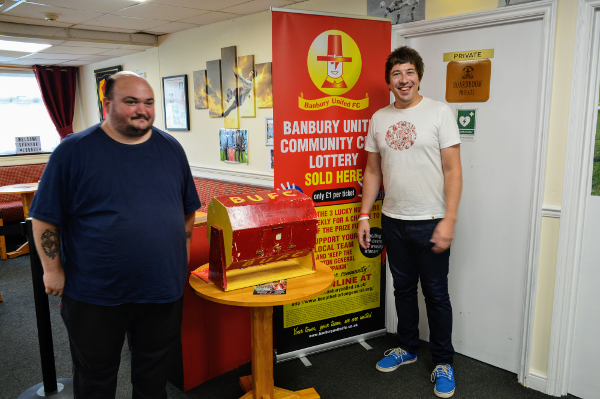 Estimated £1000 jackpot for Banbury United lottery