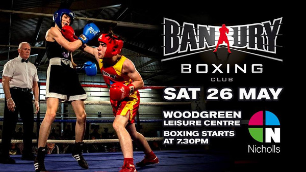 DON'T MISS An evening of Live Amateur Boxing featuring local talented young boxers.