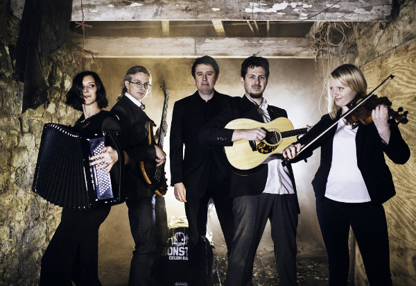 Traditional folk music blended with electronic dance as Monster Ceilidh Band