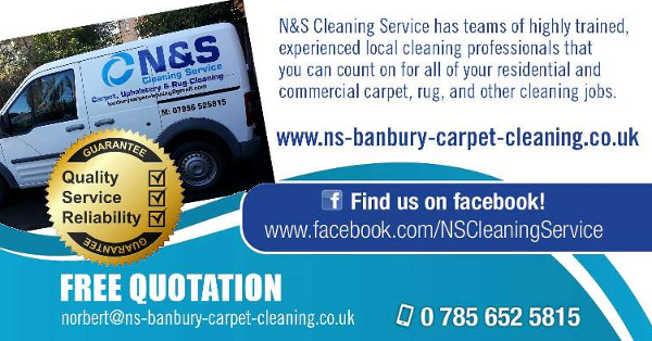 A professional family run carpet and upholstery cleaning business based in Banbury. Covering, Bicester, Brackley, Daventry and the surrounding areas.