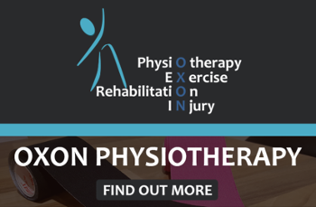 OXON Physiotherapy.  Is a private physiotherapy clinic providing high quality physiotherapy, pilates, sports massage and acupuncture to everyone, from the general public to elite athletes.