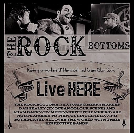 Open Mic Night with The Rock Bottoms