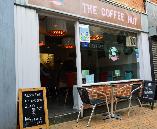 The Coffee Hut opened on 16th March 2019.