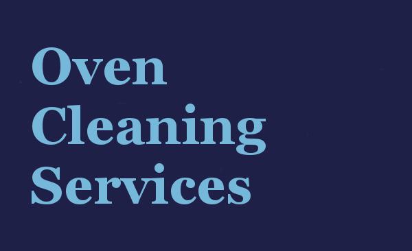 Oven Cleaning services specialising in commercial and residential properties.