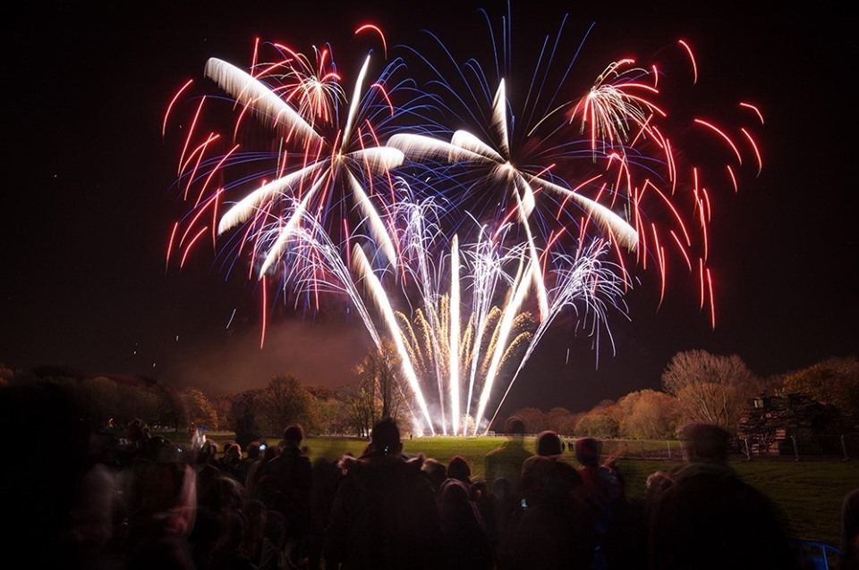 Oxford Round Table's 52nd Charity Fireworks Display.