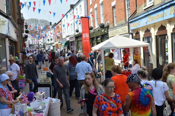 More than 15 independents in Parsons Street, Church Lane, Church Walk and White Lion Walk are getting together for a first Street Trading Saturday.