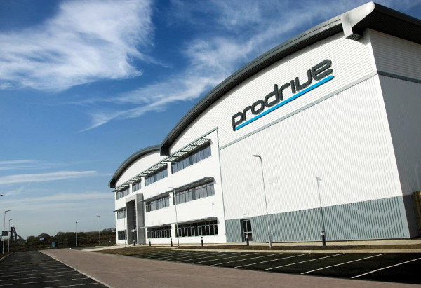 Prodrive HQ in Banbury North Oxfordshire fronting the M40 Motorway