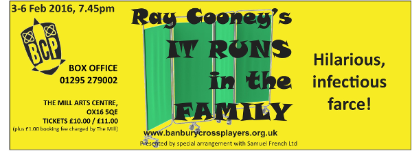 Banbury Cross Players Present It Runs in the Family