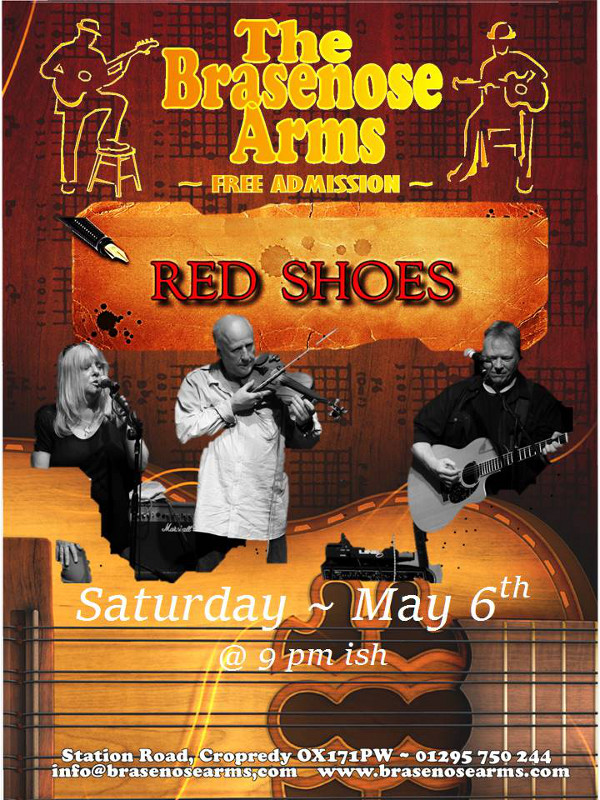 The Brasenose Arms Present... Red Shoes.