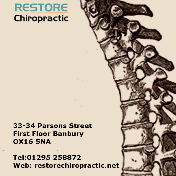 Restore Chiropractic 33-34 Parsons Street Banbury OX16 5NA