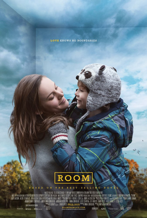 Room. Based on the best-selling novel by Emma Donoghue