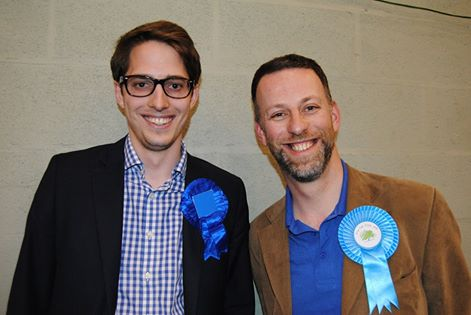 SAMES Dan (pictured right) is thereby elected to serve a four-year term ANDERSON David Rhys (pictured left) is thereby elected to serve a three-year term COTTER Nick is thereby elected to serve a two year term
