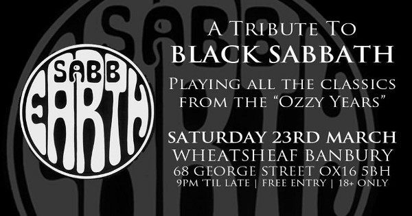 Black Sabbath tribute band from the West Midlands who pride ourselves on being a 'soundalike' rather than a 'lookalike.'