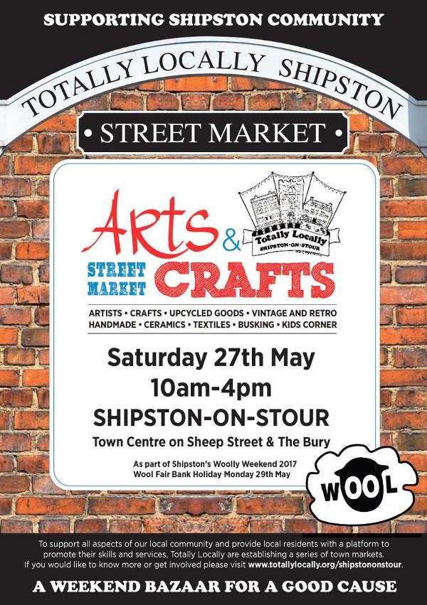 Arts & Crafts Street Market