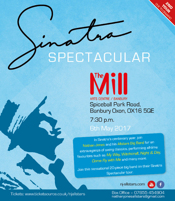 Sinatra Spectacular. Hosted by The Mill Arts Centre