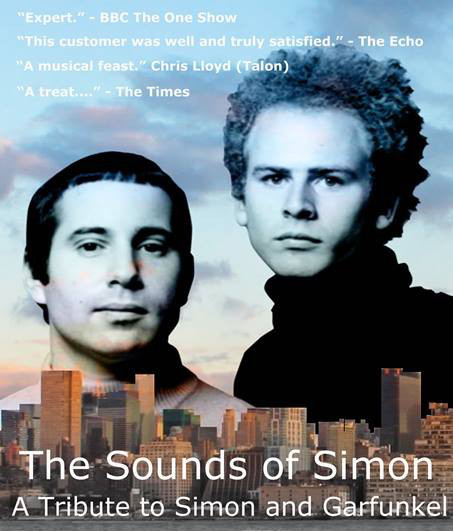 Sounds of Simon - a Tribute to Simon & Garfunkel. Hosted by MFMF