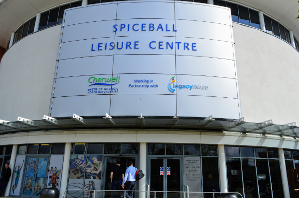 Closure for swimming pools at Spiceball Leisure Centre for remedial and refurbishment works.