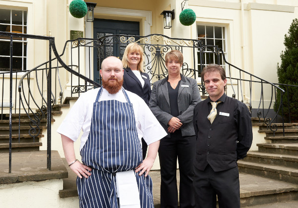 Owners of the popular town centre hotel have announced the appointment of Stuart Banks (28) as head chef.