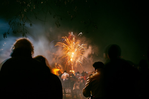 Enjoy a spectacular evening of fireworks and refreshments