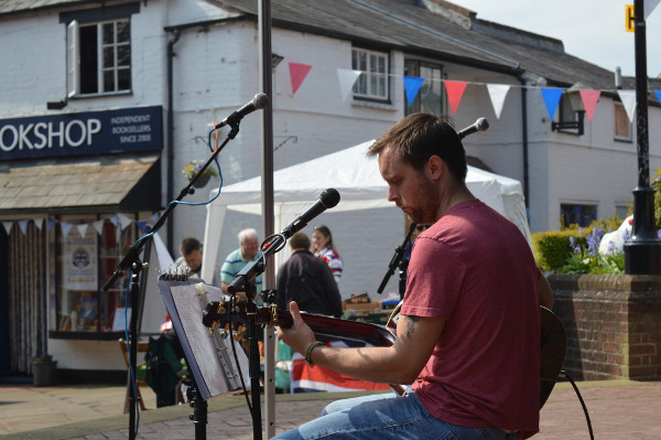 Music, dance, & street food for Banbury Old Town Spring Party 7th May