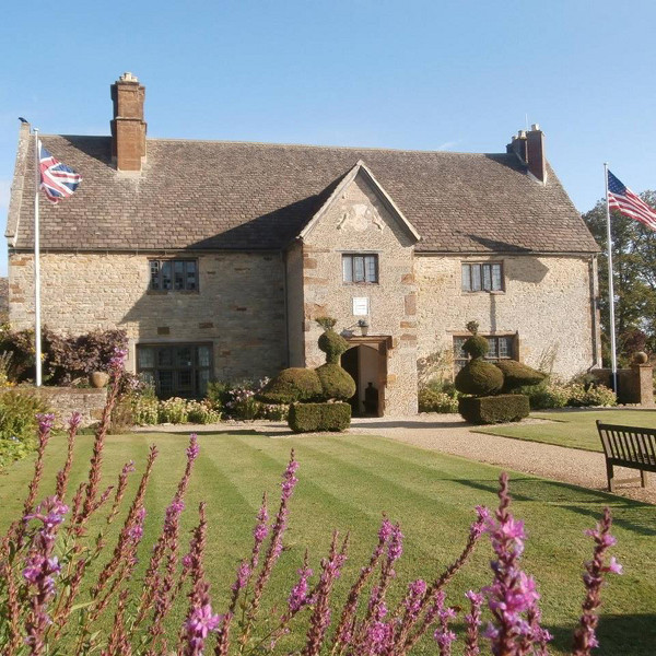 Sulgrave Manor, the ancestral home of George Washington.